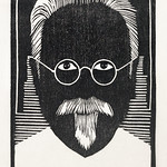 Self–portrait with glasses and goatee (Zelfportret met bril en sik) (1930) print in high resolution by Samuel Jessurun de Mesquita. Original from The Rijksmuseum. Digitally enhanced by rawpixel. thumbnail