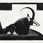 Sabelantilope (1927) print in high resolution by Samuel Jessurun de Mesquita. Original from The Rijksmuseum. Digitally enhanced by rawpixel. thumbnail