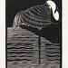 White–necked Crane (Witnekkraanvogel) (1927) print in high resolution by Samuel Jessurun de Mesquita. Original from The Rijksmuseum. Digitally enhanced by rawpixel.