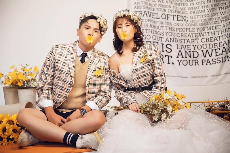 現代復古情懷 婚紗照