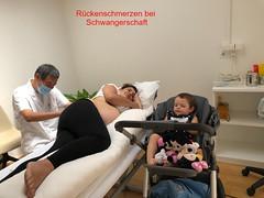 Rückenschmerzen bei Schwangerschaft