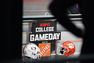 ESPN College Gameday: #7 Miami at #1 Clemson Photos
