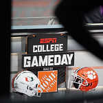 ESPN College Gameday: #7 Miami at #1 Clemson