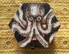octopus wooden box