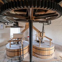 Holgate Windmill stone floor, September 2020 - 1