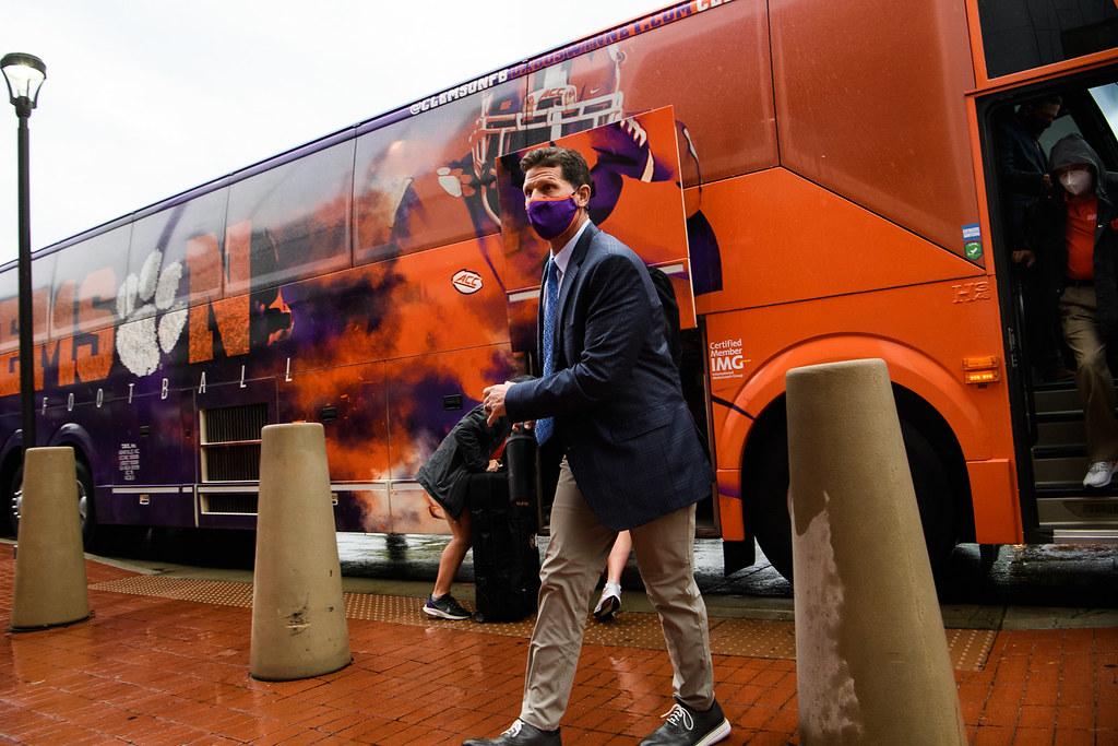 Clemson Photos: Brent  Venables, 2020, Football, miami, tigerwalk