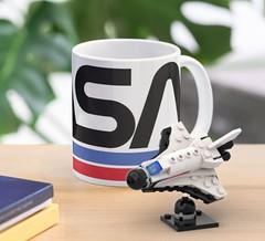 NASA Space Shuttle on desk
