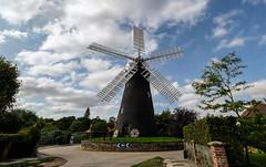 Holgate Windmill exterior, September 2020 - 3