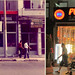 The Pudding shop 1982 and 2012