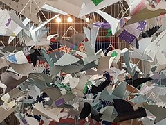 Photo of Paper pigeons