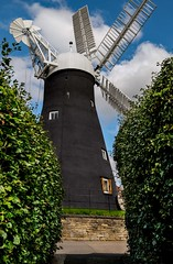Holgate Windmill exterior, September 2020 - 4