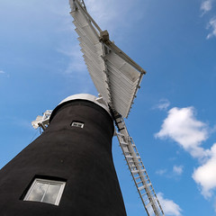 Holgate Windmill exterior, September 2020 - 1