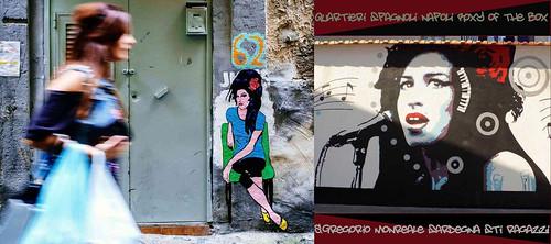 @amywinehouse 🎤 #murales  #cantante  #singer 🎥#elettritv💻📲 #webtv #musica #playlist #musicaoriginale #underground 🙌 #canalemusicale #music  sottosuolo #webtvmusicaoriginale #quartierispagnoli #napoli :