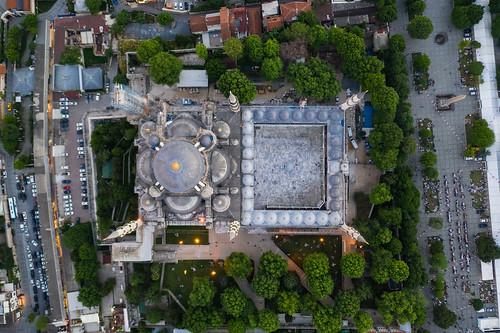 Aerial Turkey - Sultanahmet