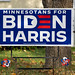 Joe Biden - Kamala Harris Campaign Sign in Hibbing, Minnesota