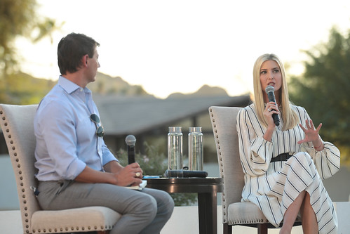 Hogan Gidley & Ivanka Trump by Gage Skidmore, on Flickr