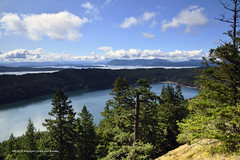 Views from Mount Norman on South Pender Island in British Columbia, Canada (2)