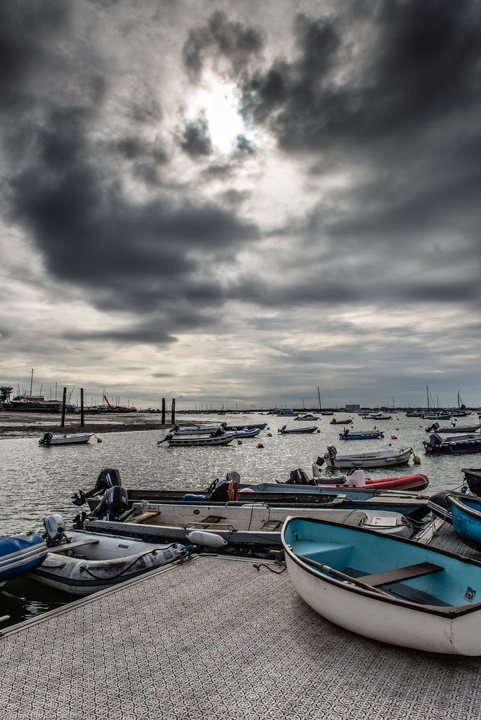 Clouds at West Mersea, Esses