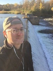 Selfie by dam on Rideau River