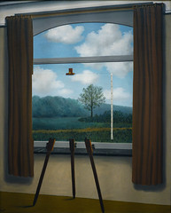 Magritte, The Human Condition