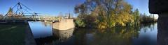 Swing bridge by Burritts Rapids, Rideau Canal