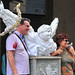 Living statue, Florence