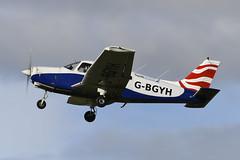 Photo of G-BGYH Piper PA-28-161 Cherokee Warrior II EGPJ 11-10-20
