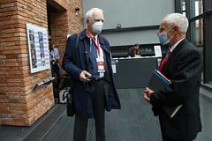 """Jan Olbrycht podczas XX konferencji """"Rola Koscioła Katolickiego w Procesie Integracji Europejskiej"""""""