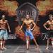 Men's Physique B 2nd Jazi 1st Felgueiras 3rd Vocadlo