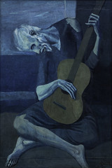 Picasso, The Old Guitarist