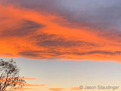 October 12, 2020 - A stunning Colorado sunset. (Jason Staudinger)