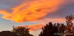 October 12, 2020 - A stunning Colorado sunset. (David Canfield)