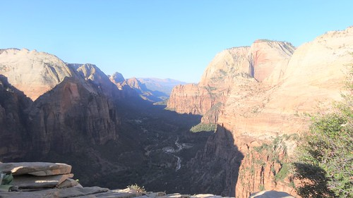 Zion Canyon from Angels Landing, Zion NP, UT