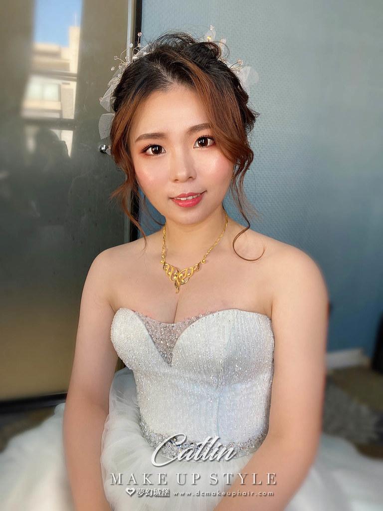 【新秘Catlin 】bride鈺玄 訂婚造型 / 韓系仙女