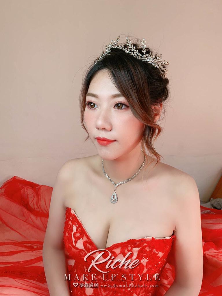 【新秘RICHE】bride畇方 訂婚造型 / 韓系美人