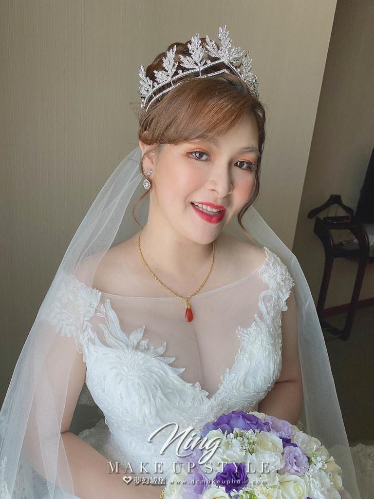 【新秘羽寧 】bride秀宜結婚造型 / 華麗公主女神風