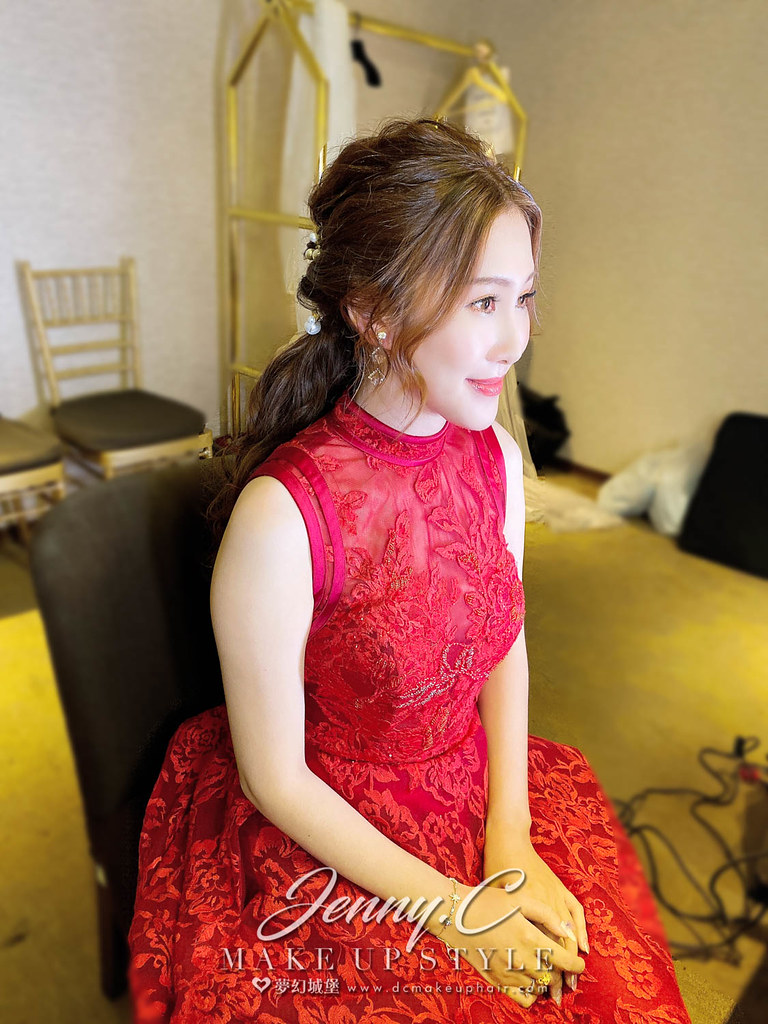 【新秘蓁妮】bride Levina 結婚造型 / 韓系女神風格