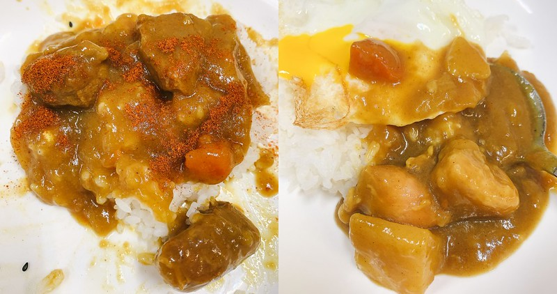 【台南美食】老騎士咖哩飯專門店 白飯、小菜、湯、飲料吃到飽!學生們最愛!近赤崁樓!