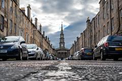 Edinburgh New Town, UNESCO World Heritage site since 1995. Scotland, United Kingdom