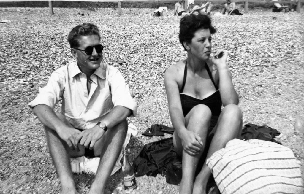 cooden beach 1955