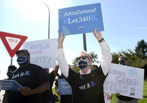 2020: AHF Wilmington AstraZeneca Protest