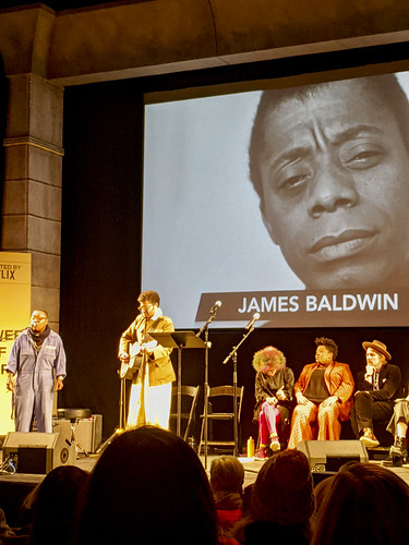Singer-songwriter Meshell Ndegeocello with guitarist Christopher Bruce Plays James Baldwin
