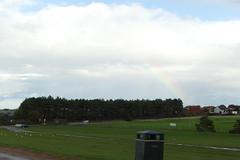 Photo of Right Rainbow, Old Hunstanton Beach