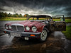 lovely classic car burnt out by joyriders