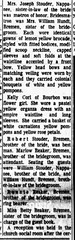 1966 - Roger Reaker marries Susan Stouder 2 - South Bend Tribune - 30 Aug 1966