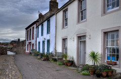 Photo of Cottages at Old Harbour, Dunbar, East Lothian