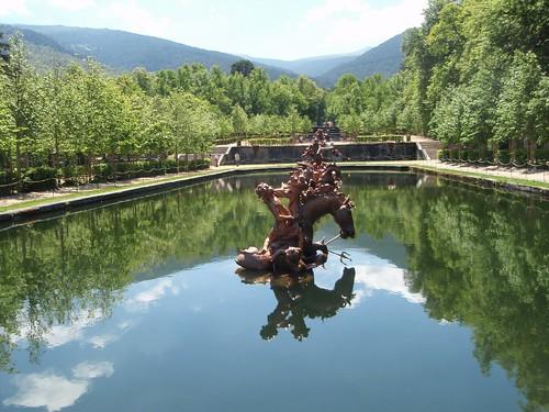 Fuente de Neptuno - Granja de San Ildefonso-Segovia