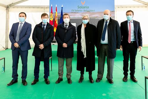 """Inauguración de la planta fotovoltaica """"FV Solaria-Belinchón I"""""""