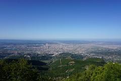 View onto Tirana from the Dajti