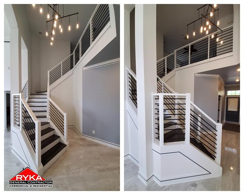 New modern staircase